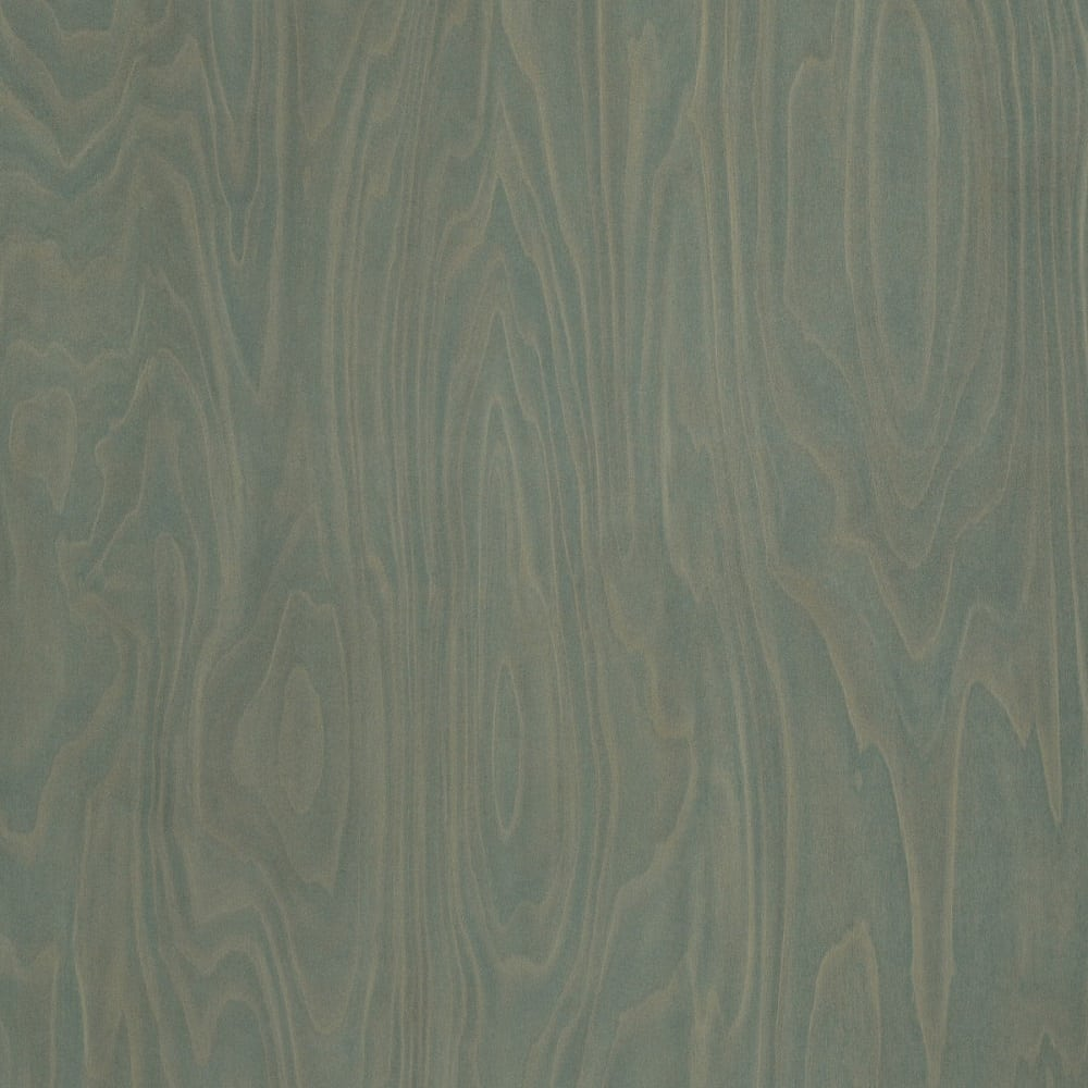 Green Laminate: Green Slate Birchply, Natural Grain Laminate Sheet