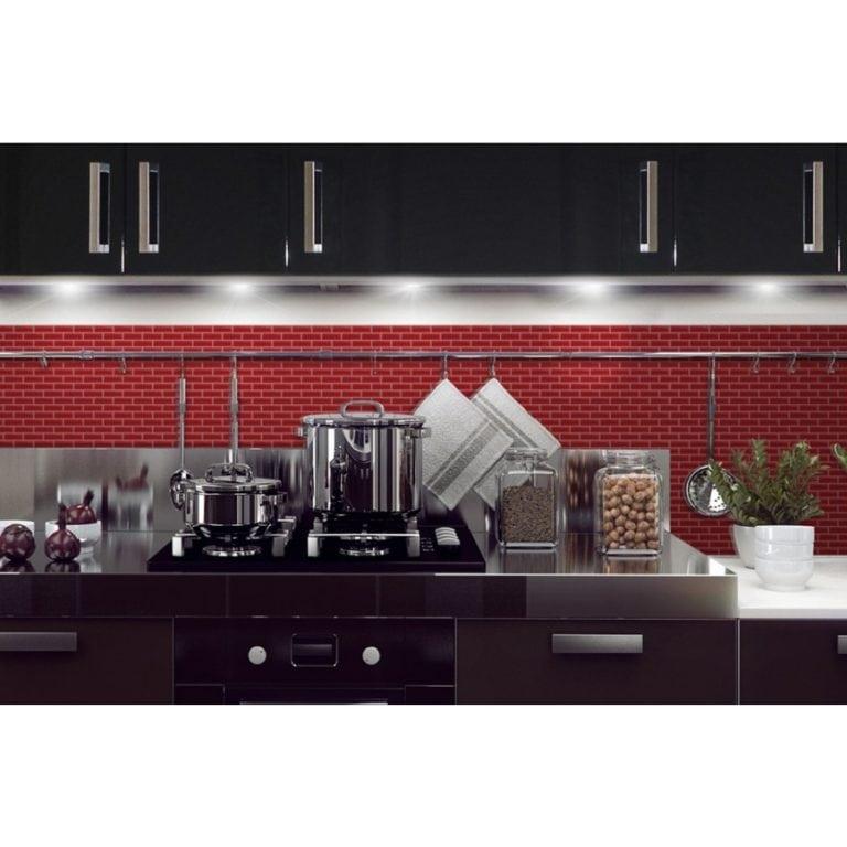 Murano Cosmo Smart Tiles Peel & Stick Backsplash