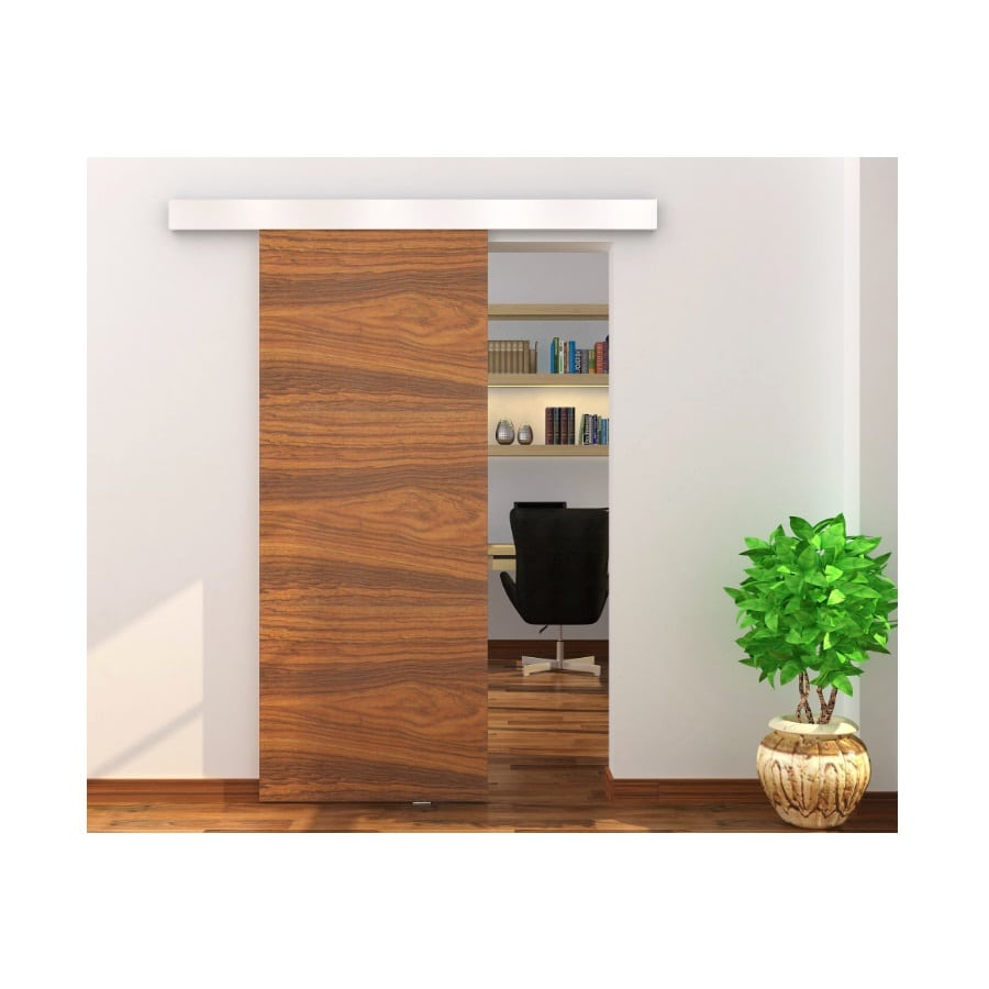 Installed Contemporary Interior Barn Doors Harware