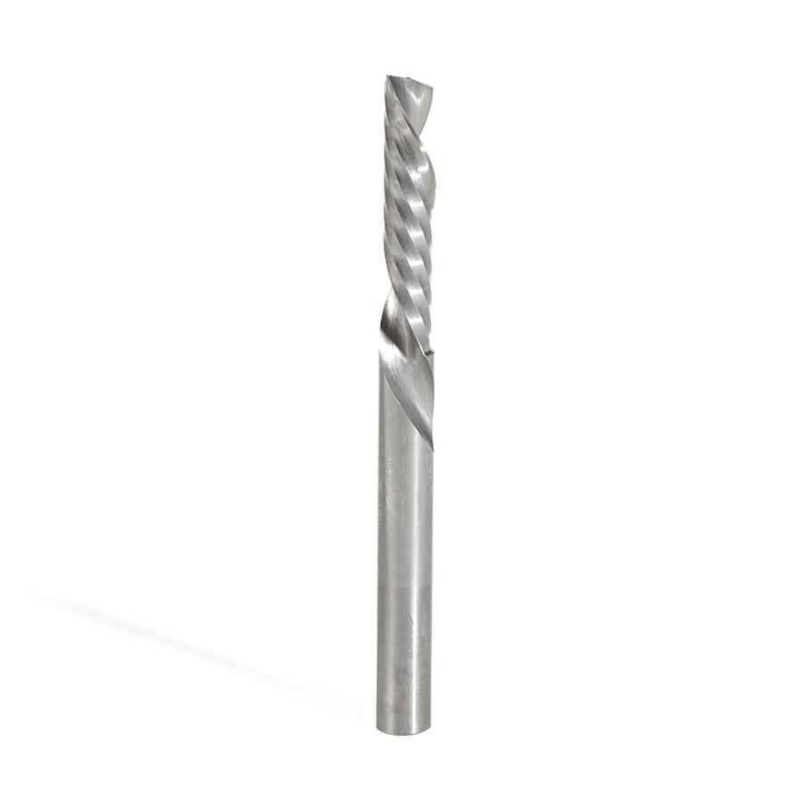 57314 Metric Solid Carbide CNC Spiral O Single Flute Amana Tool Plastic Cutting 3 Dia