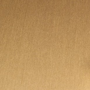 Satin Brushed Gold Aluminum Decorative Metal Laminate