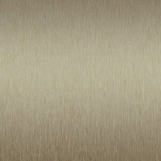 Satin Brushed Lite Bronze Aluminum Decorative Metal Laminate