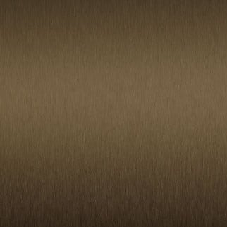 Satin Brushed Medium Bronze Aluminum Decorative Metal Laminate