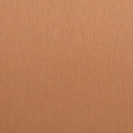 Satin Brushed Copper Aluminum Decorative Metal Laminate