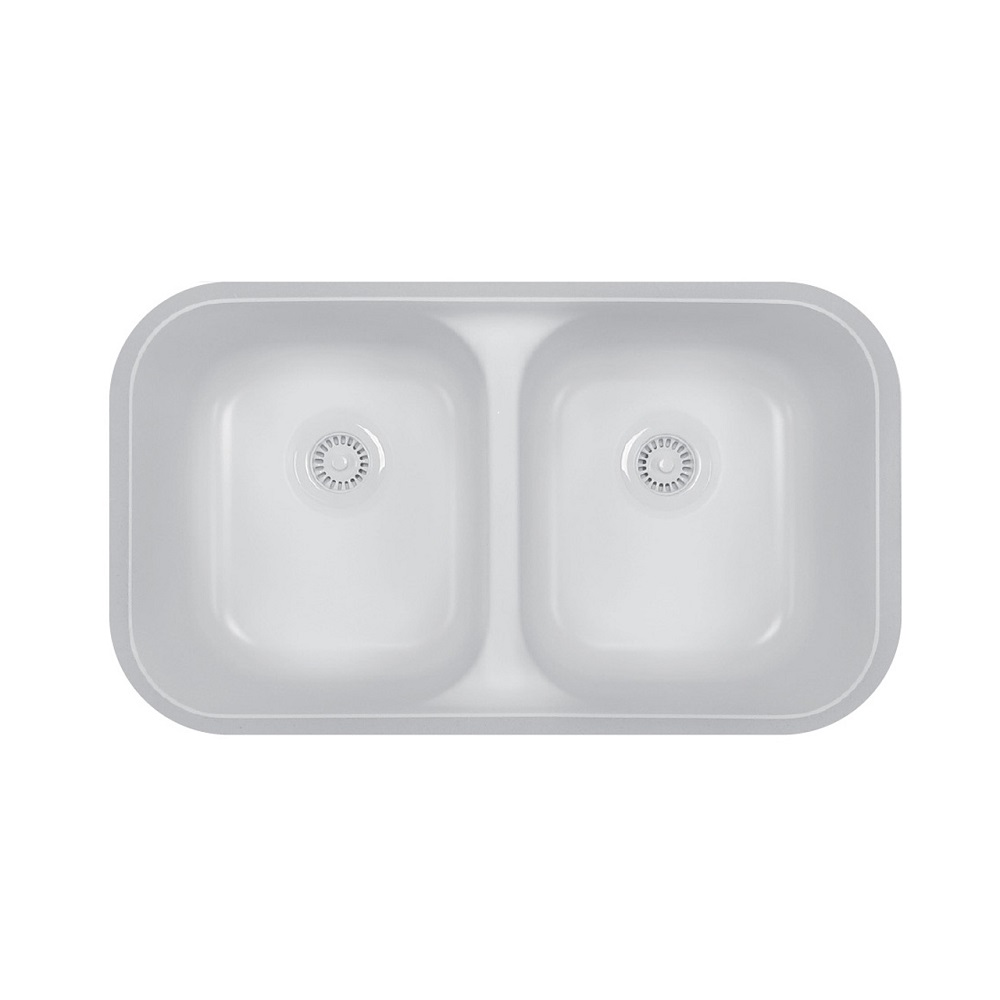 Karran A 350 Acrylic Undermount Sink Laminate Solid Surface