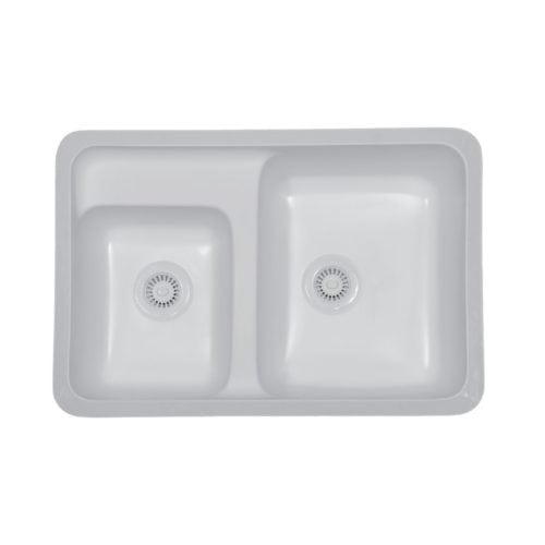 Concord Large / Small Bowl Undermount Sink