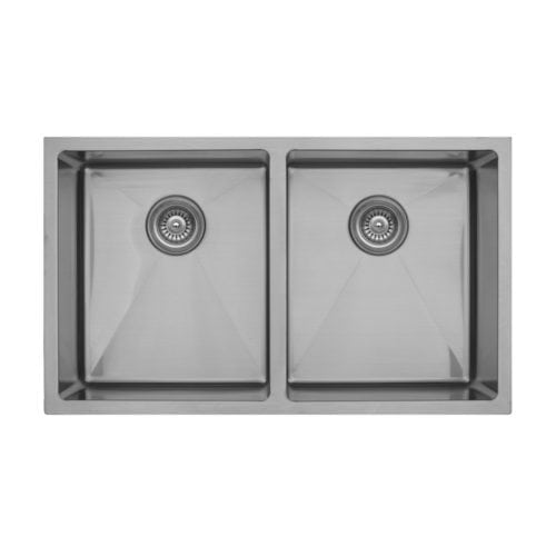 Elite EL-76 Double Equal Undermount Bowl Sink