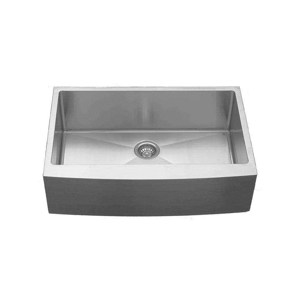 Karran Elite EL-84 Single Undermount Bowl w/Apron Stainless Sink