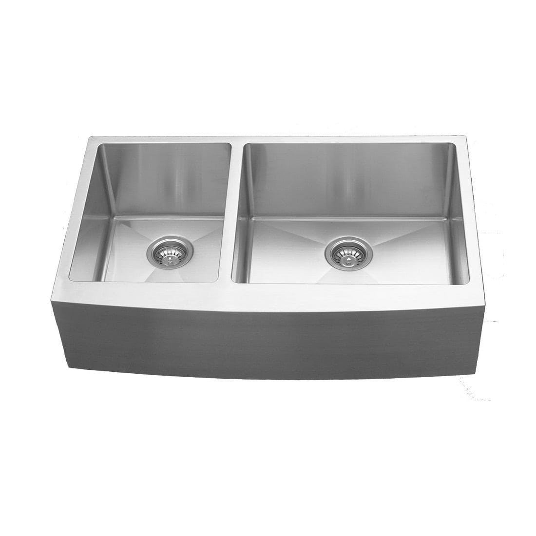Elite EL 86 Double Undermount Bowl With Apron Sink