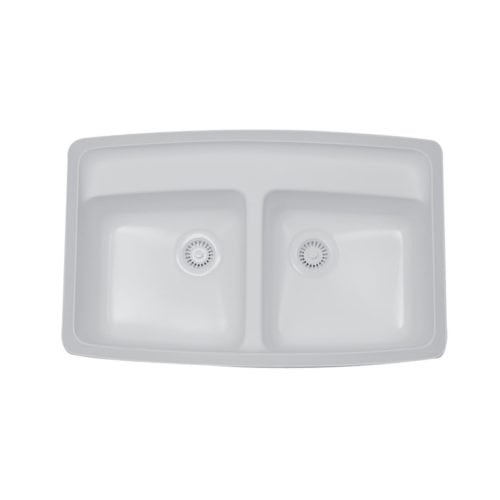 Fulton Double Equal Bowl Undermount Sink