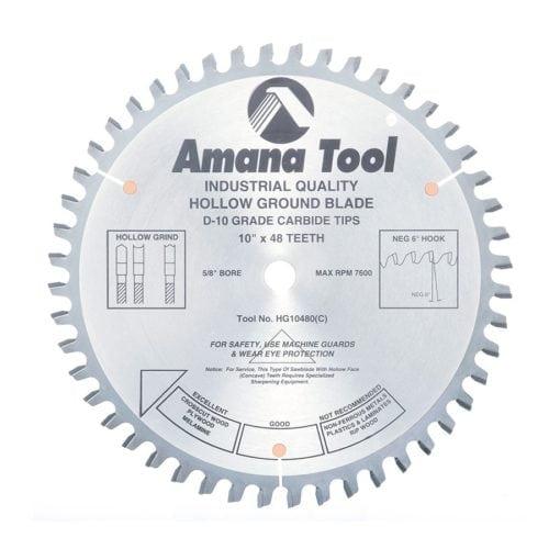Amana Tool Saw Blades Cabinetmaker Warehouse