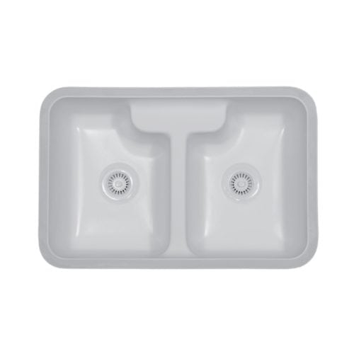 Hampton Double Equal Bowl Undermount Sink