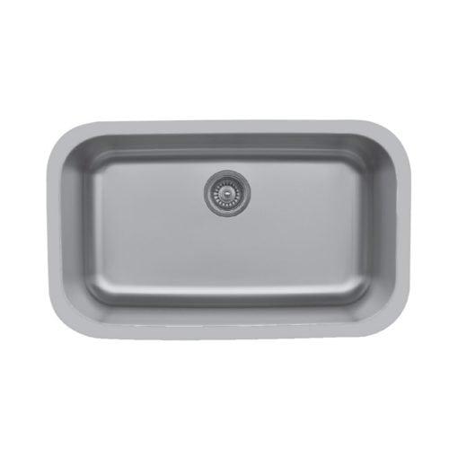 Edge E-340 Undermount Extra Large Single Bowl Sink