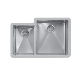 Edge E-560L Undermount Small / Large Double Bowl Sink