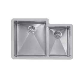 Edge E-560R Undermount Large / Small Double Bowl Sink