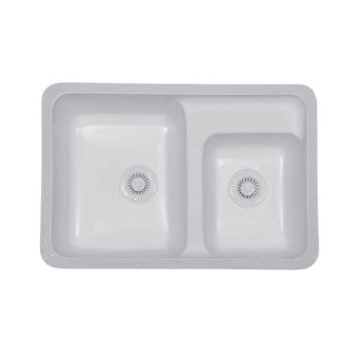 Landin Large / Small Bowl Undermount Sink
