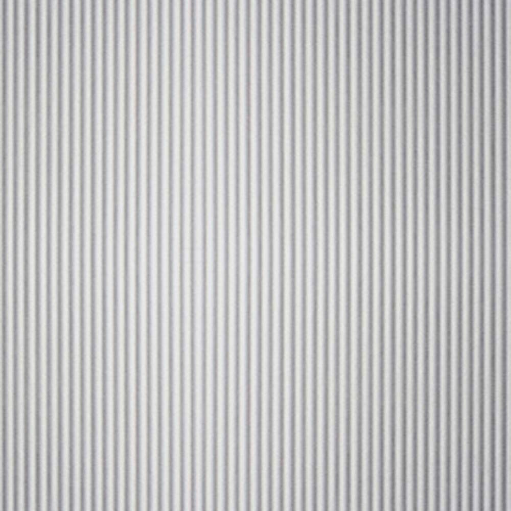 Vertical Corrugated Matte Aluminum Decorative Metal Laminate