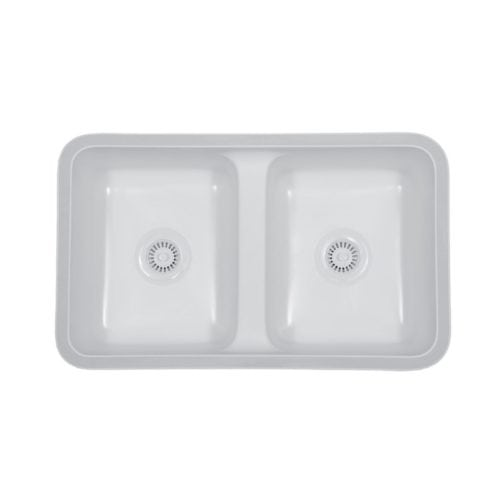 Newport Double Equal Bowl Undermount Sink