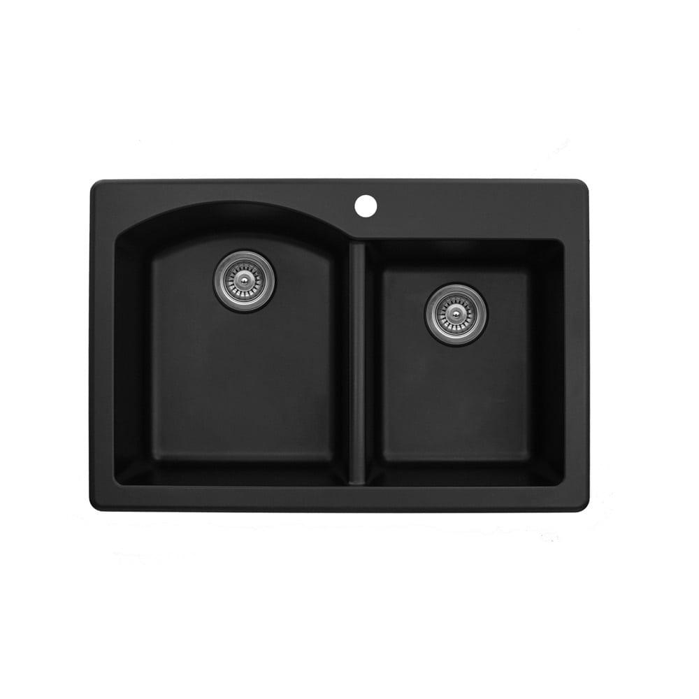 Karran Quartz Q 350 Undermount Sink With Double Equal Bowl