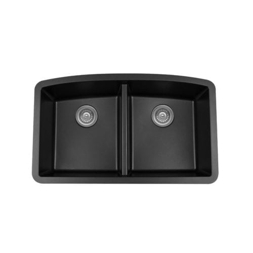 Quartz QU-710 Undermount Double Equal Bowl