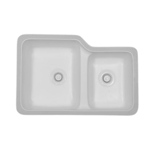 Sorrento Large / Small Bowl Undermount Sink