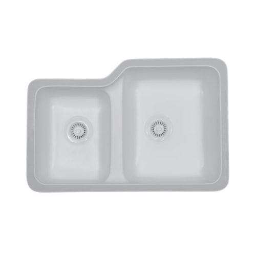 Tuscany Small / Large Bowl Undermount Sink