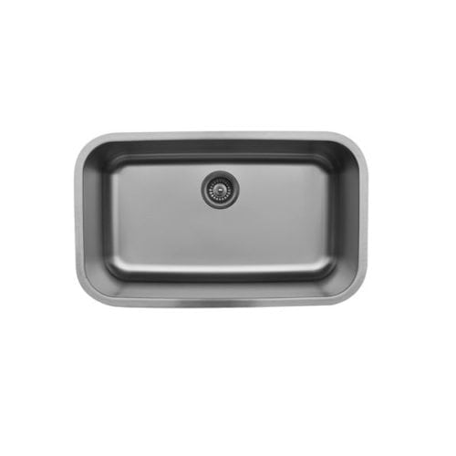U-3018 Stainless steel extra large single bowl
