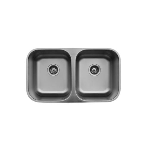 U-5050 Stainless Steel Double Equal Bowl Undermount Sink