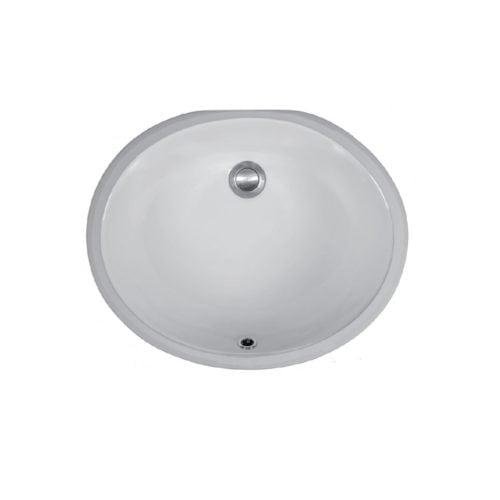 Vitreous China VC-102 Vanity Undermount Sink
