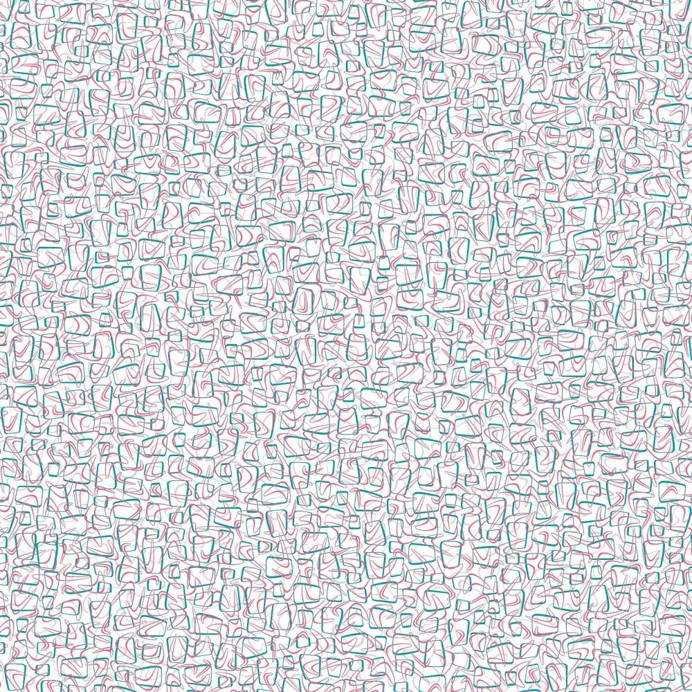 Retro Pop Matte Laminate Sheet