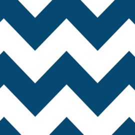 Moody Blue Chevron