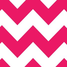 Raspberry Chevron
