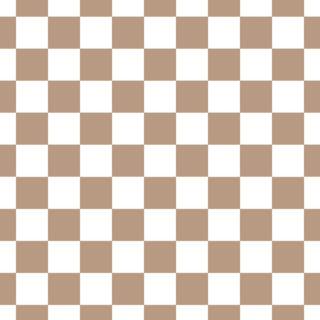 Checkered Ecru