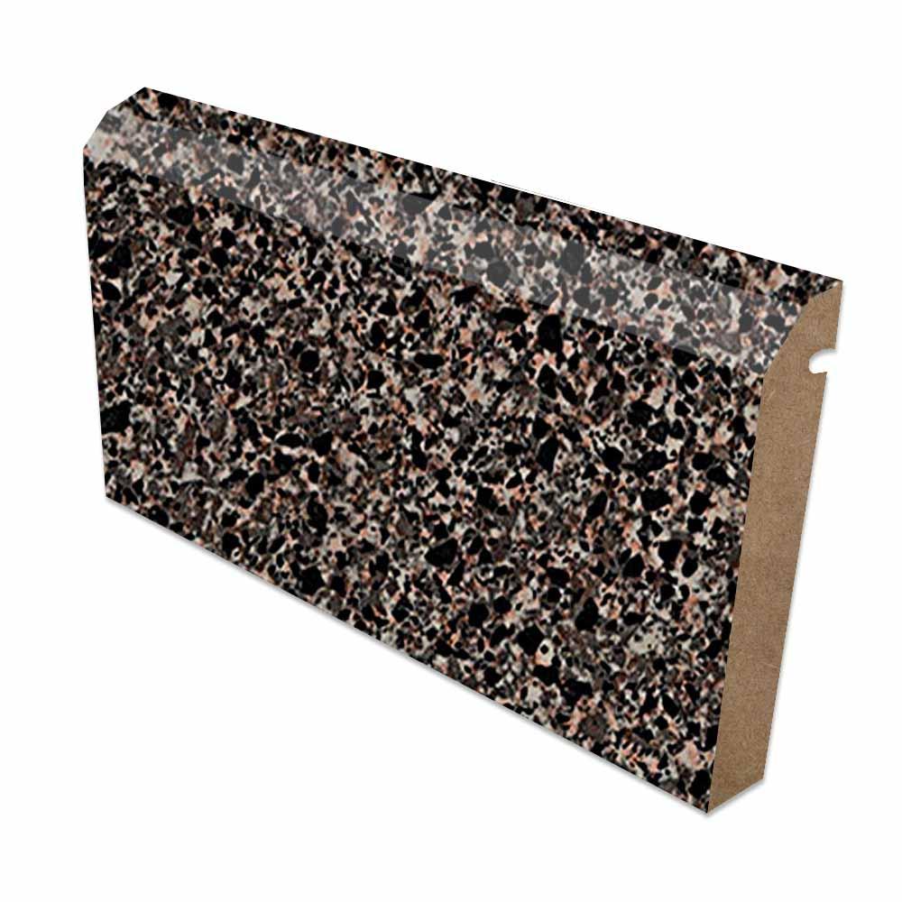 Blackstar Granite Bevel Edge Backsplash High Gloss Finish