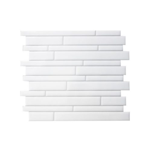 Infinity Blanco Smart Tiles Peel & Stick Backsplash