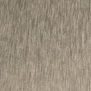 Brite Brushed Sterling Decorative Metal Laminate