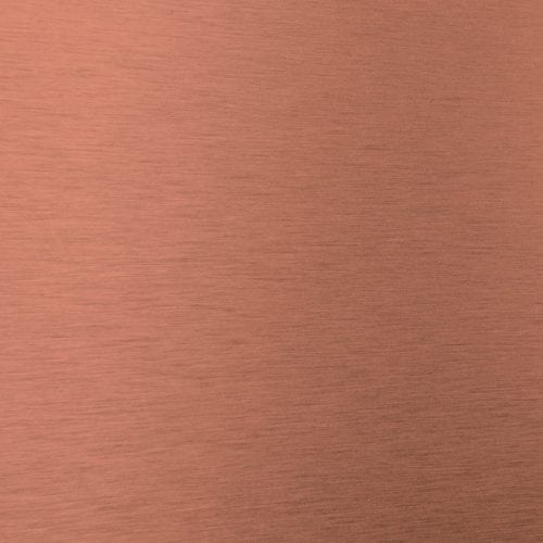 Satin Brushed Penny Decorative Metal Laminate