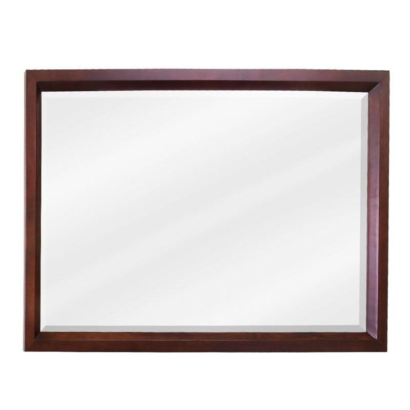 Mahogany Bathroom Mirror: MIR067-D By Jeffrey Alexander