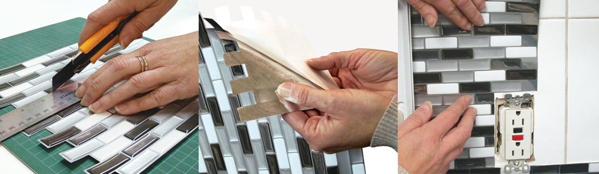 Smart Tiles Peel & Stick Backsplash | Cabinetmaker Warehouse