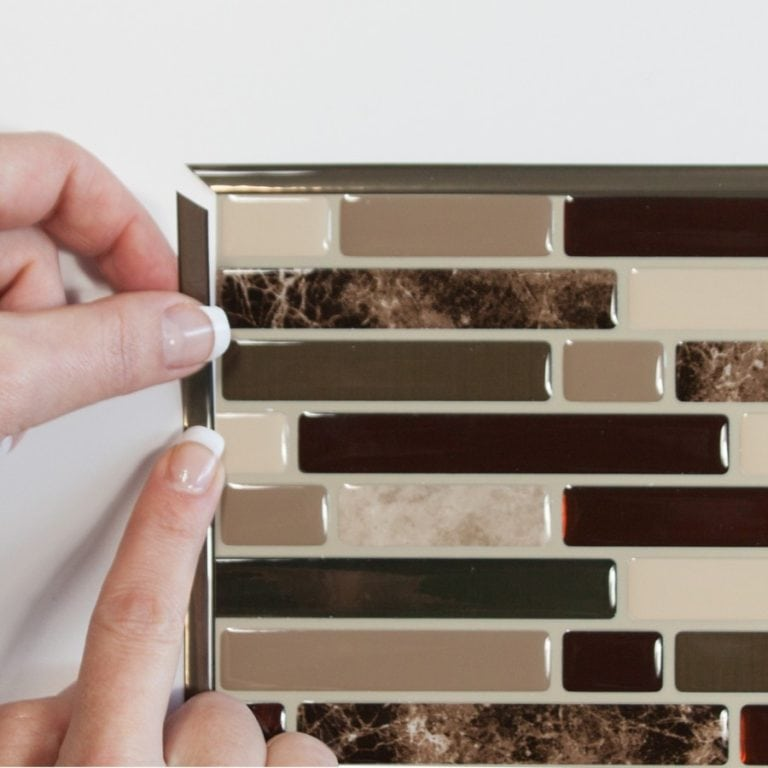 Bellagio Keystone Smart Tiles Peel & Stick Backsplash