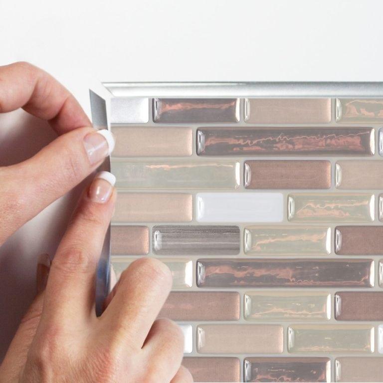 Muretto Durango Smart Tiles Peel & Stick Backsplash