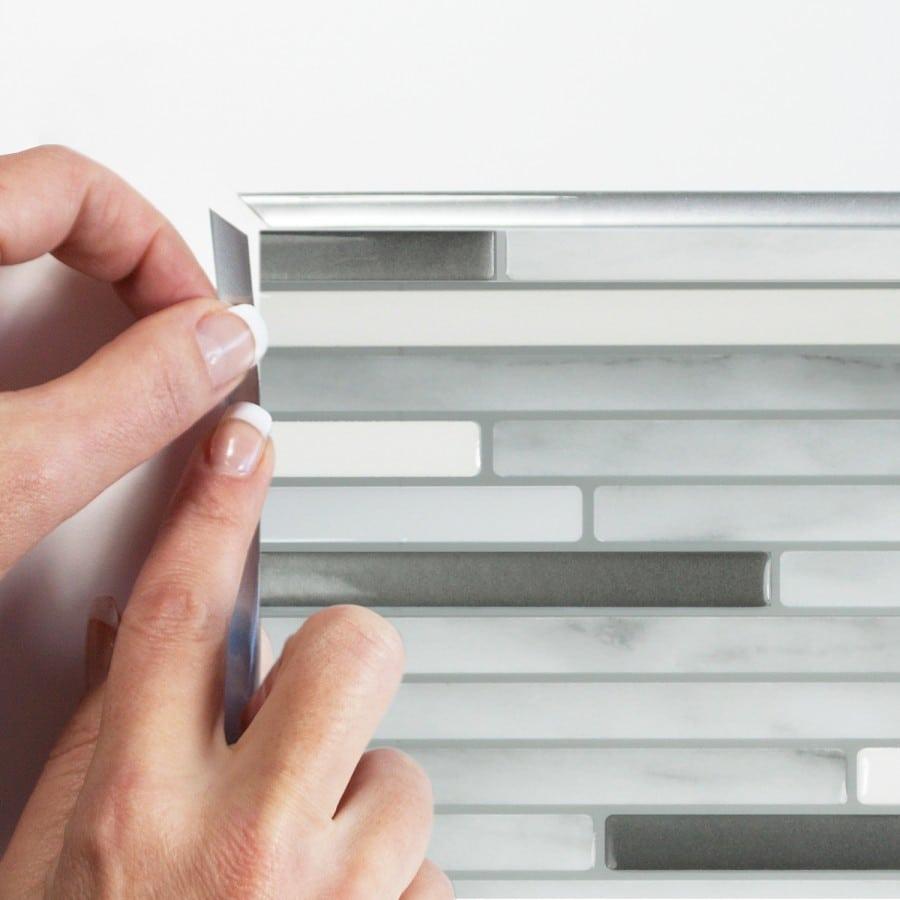Capri Carrera Peel & Stick Smart Tiles Backsplash