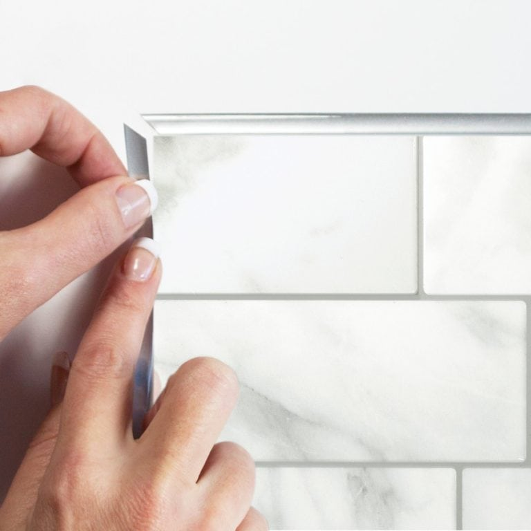 Metro Carrera Smart Tiles Peel & Stick Backsplash