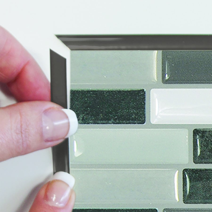 Smart Edge Peel Amp Stick Smart Tiles Backsplash Edge