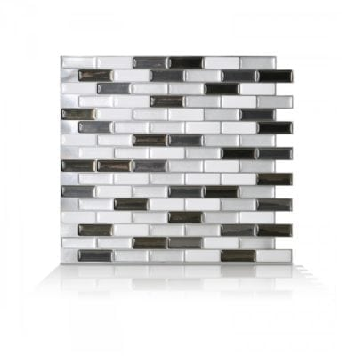 Murano Metallik Smart Tiles Peel & Stick Tile