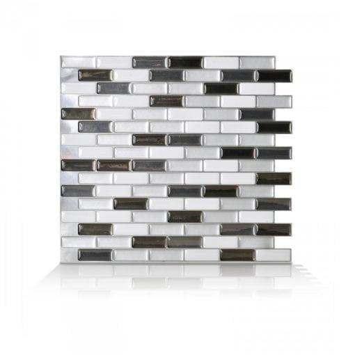 Murano Metallik Smart Tiles Peel & Stick Tile