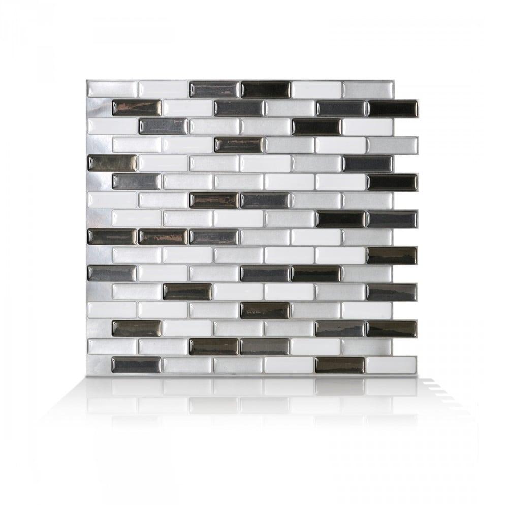 Peel Stick Backsplash Tiles: Muretto Durango Peel & Stick Smart Tiles Backsplash