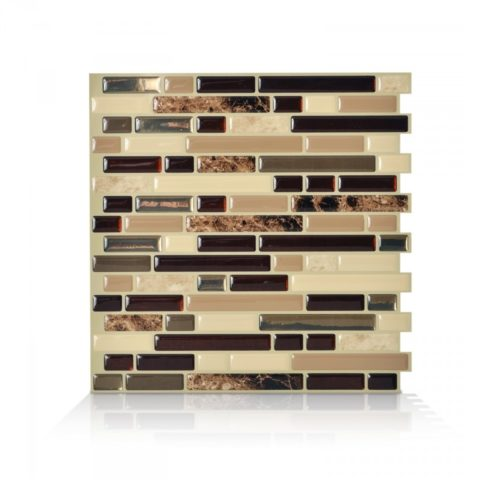 Bellagio Keystone Smart Tiles Peel & Stick Backsplash