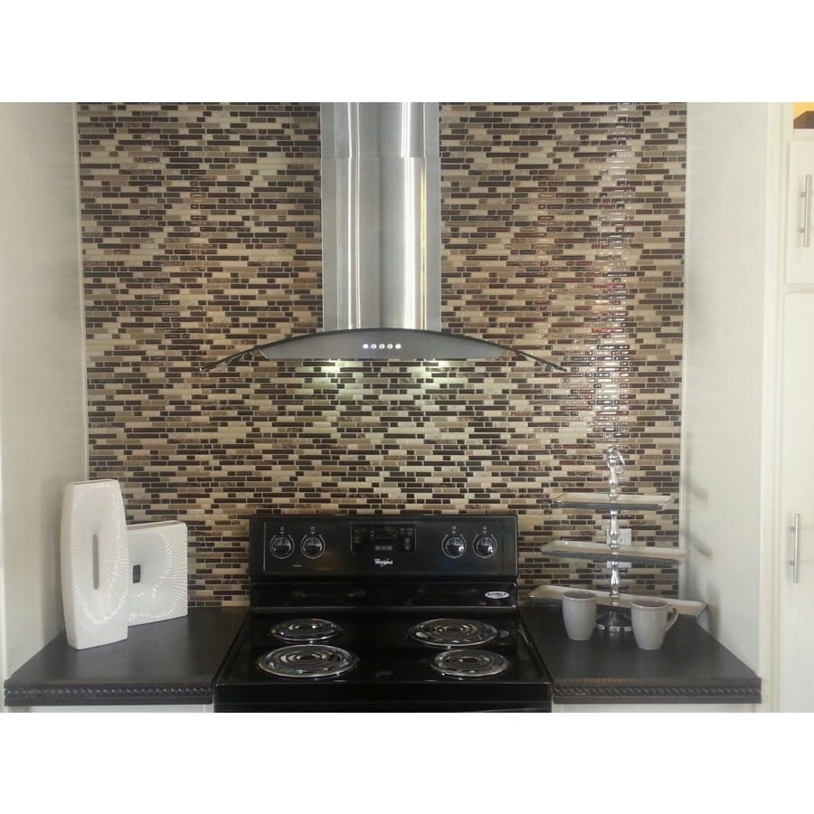 Peel And Stick Backsplash Tiles: Bellagio Keystone Peel & Stick Smart Tiles Backsplash