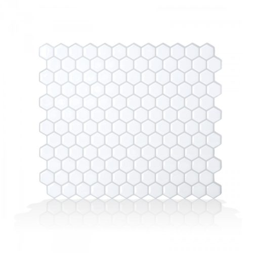 Hexago Smart Tiles Peel & Stick Backsplash
